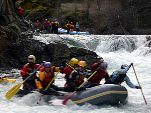Rafting the California Salmon River