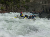 Rafting on California's Smith River